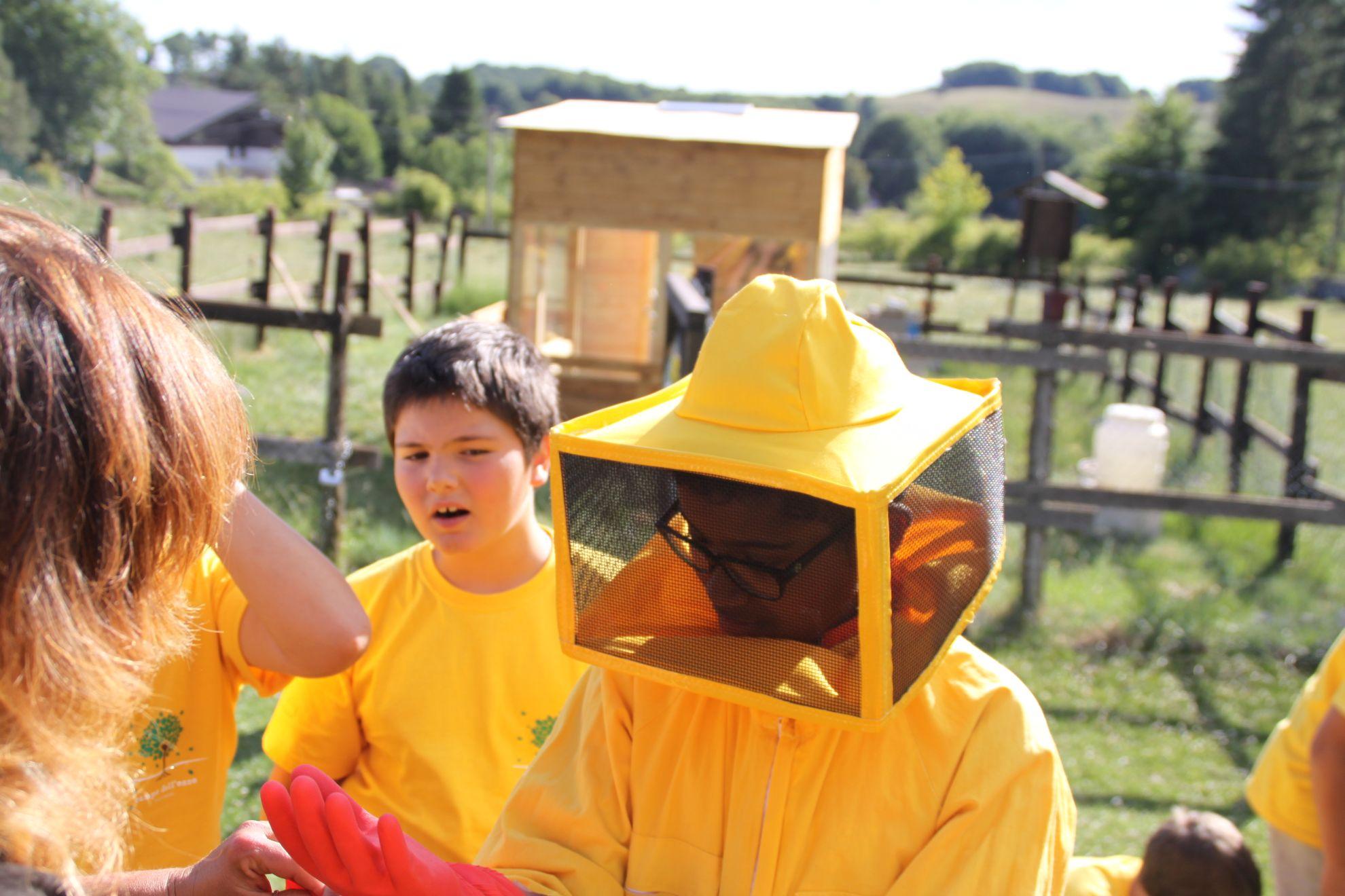 bimbo apicoltura Mieleria Livata