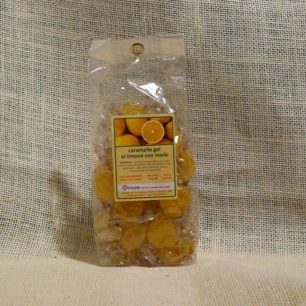 Gelatine monoincartate al Miele e Limone - La Mieleria nel Bosco