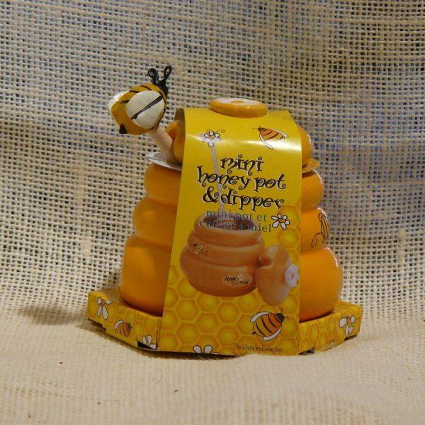 Porta Miele in Ceramica Piccolo - La Mieleria nel Bosco