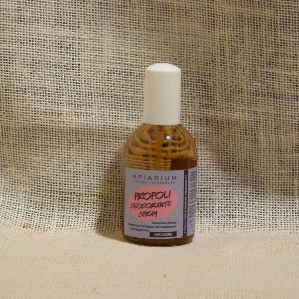 Deodorante Spray alla Propoli Linea Apiarium - La Mieleria nel Bosco