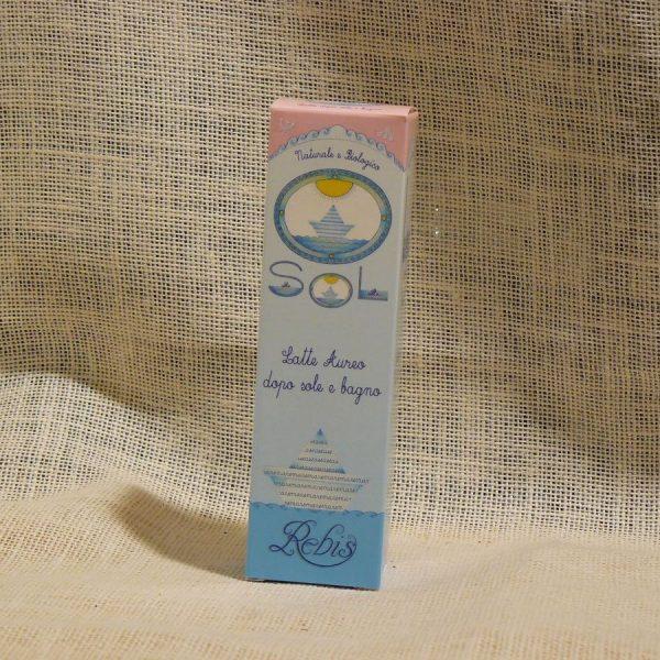 Latte Aureo Doposole Bagno Linea Rebis - La Mieleria nel Bosco