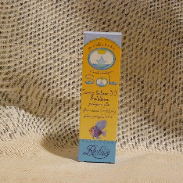 Crema Solare Protettiva 30 Linea Rebis - La Mieleria nel Bosco