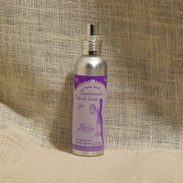 Deodorante Spray Naturale Fiorito Linea Rebis - La Mieleria nel Bosco