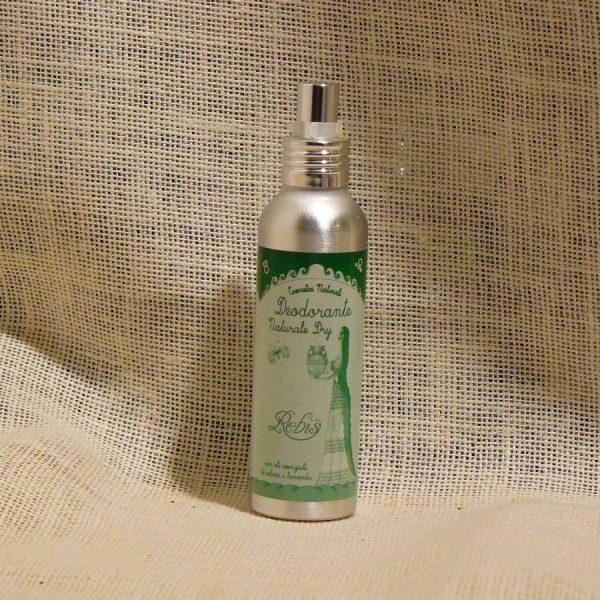 Deodorante Naturale Dry Spray Linea Rebis - La Mieleria nel Bosco