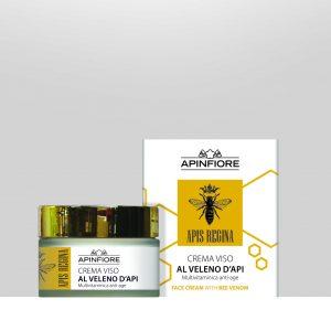 "Crema viso anti age al veleno d'api ""apis regina"""